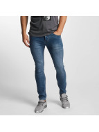 Sublevel Jean skinny Zip Fly bleu