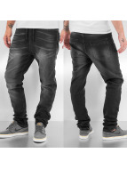 Sublevel Jogginghose Denim schwarz