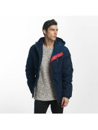 Sublevel Manteau hiver Ouilted bleu