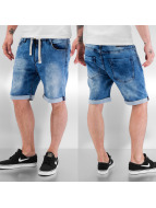 Sublevel Shorts Jogg Denim Jeans blau