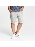 Sublevel Jogg Denim Jeans Shorts Light Grey