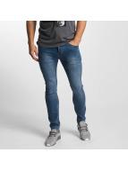 Sublevel Skinny Jeans Zip Fly niebieski