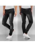 Sublevel Skinny jeans Destroy zwart
