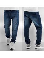 Sublevel Spodnie do joggingu Hilmar niebieski