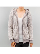 Sublevel Strickjacke Fleece grau