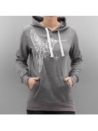 Sublevel Sweat à capuche Kolibri gris