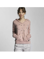 Sublevel Sweat à capuche Shellfish rose