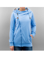Sublevel Sweat à capuche zippé Mara bleu