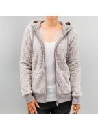 Sublevel Sweat à capuche zippé Fleece gris