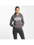 Sublevel Sweat capuche Love Peace Happiness gris