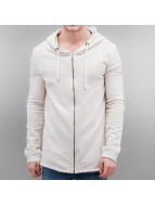 Sublevel Sweat capuche zippé Kaschba beige