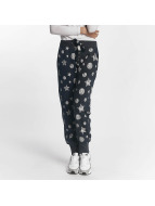 Sublevel Sweat Pant Allover Print blue