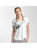 Sublevel T-paidat Make a Wish valkoinen