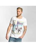 Sublevel T-Shirt Surf Culture blanc