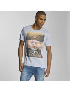 Sublevel t-shirt Live Your Life blauw