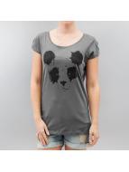 Sublevel T-Shirt Panda grau
