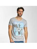 Sublevel T-Shirt Surf Beach grau