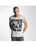 Sublevel T-Shirt Wanna Taste ? grau