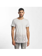 Sublevel T-Shirt Camouflage Print grau