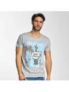 Sublevel T-Shirt Surf Beach gris