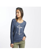 Sublevel T-Shirt manches longues Anchor bleu