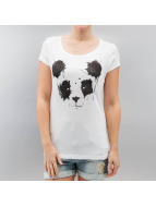 Sublevel T-Shirt Panda weiß