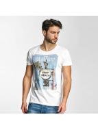 Sublevel T-Shirt Surf Beach weiß