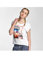 Sublevel T-Shirt Endless Sunset weiß