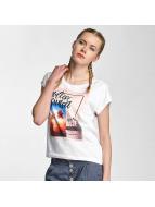 Sublevel T-Shirt Endless Sunset white