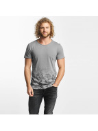 Sublevel T-Shirty Camouflage Print szary