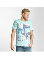 Sublevel T-Shirty Surf Culture turkusowy