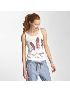 Sublevel Tank Tops Catching Dreams valkoinen