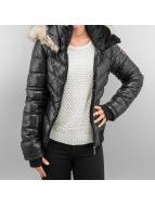 Sublevel Veste d'hiver Fake Fur noir