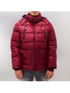 Sublevel winterjas Bubble rood