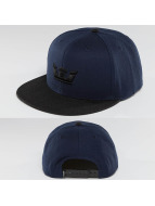 Supra Snapback Cap Icon blau