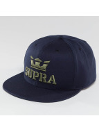 Supra Snapback Caps Above blå