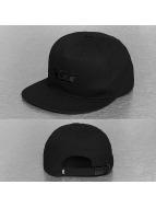 Supra Snapback Caps Icon musta