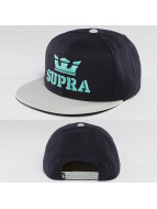 Supra Snapback Caps Above sininen