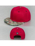SUR snapback cap SUR Street Camo rood