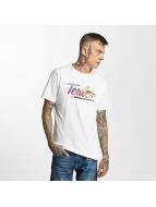 Tealer Glitch Color T-Shirt White