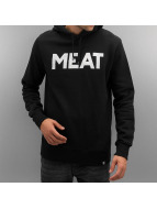 The Dudes Hoody Meat schwarz