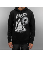 The Dudes Hoody Dirty Melody zwart