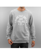 The Dudes Pullover Dream Killer grau