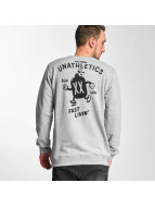 The Dudes Pullover Fast Livin gris