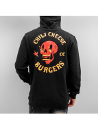The Dudes Sweat capuche Chilli Cheese noir