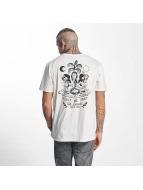 The Dudes T-Shirt Moon blanc