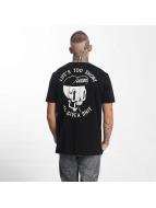 The Dudes T-Shirt Too Short noir