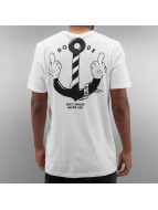 The Dudes T-Shirt Anchor white