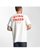 The Dudes T-Shirt Burn Trees white