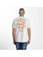 The Dudes T-Shirt Pizza 24/7 white